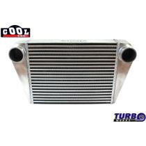 Intercooler TurboWorks 450x350x76 hátsó kivezetéssel